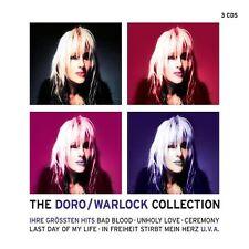 "DORO ""THE DORO/WARLOCK COLLECTION"" 3 CD NEU"
