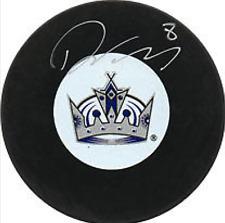 Даути, Дрю шайба авто хоккейная Los Angeles Kings НХЛ COA