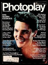 PHOTOPLAY - NOVEMBER 1977 - ELVIS, FARRAH,TUCKER BAND, STALLONE, LEARNED, JFK