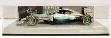 Minichamps Mercedes W05 L Hamilton ABU DHABI GP 2014 Ltd Ed 1:43 escala 410140444