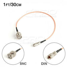 CGPro Ultra Thin 1.0/2.3 DIN to BNC HD-SDI 3G-SDI Cable (1FT/30CM) UK!