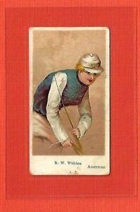1910 E47 AMERICAN CARAMEL  R. W. WALDEN  AMERICAN JOCKEY