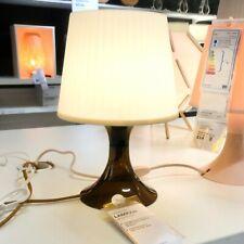 IKEA LAMPAN Tischlampe braun Nachttischlampe Regalleuchte Wohnzimmerleuchte NEU