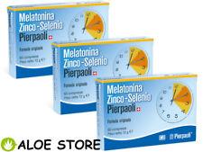 Dr.Pierpaoli - 3 confezioni Melatonina Zinco-Selenio 60 compresse - ORIGINALE