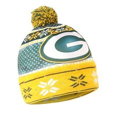 e9525d92fd8b3 Green Bay Packers Forever Collectibles NFL UGLY Light Up Beanie FREE SHIP