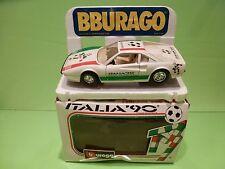BBURAGO 0148 IT FERRARI 308 GTB - ITALIA '96 - WHITE 1:24 - GOOD IN BOX