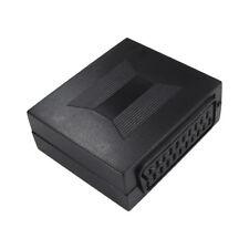 21 broches péritel Coupleur Câble plomb Menuisier Connecteur Adaptateur Femelle à Femelle Socket
