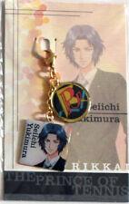 Prince of Tennis Yukimura Fastener Metal Charm Anime Manga Game MINT