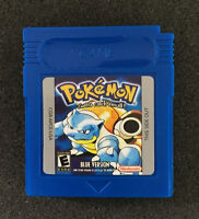 Nintendo Pokemon Game Card Blue Version For Game Boy Color Game Only