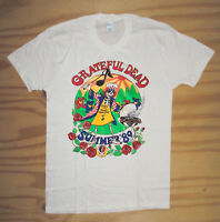 Vintage Grateful Dead T-Shirt Rare summer tour 1989 Gildan Reprint New Top Sold