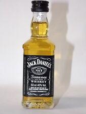 Jack Daniels Whiskey 50 ML 40% MINI BOTTIGLIE BOTTLE miniature bottela Poland