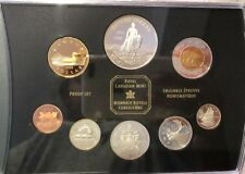 1998 Canadian Sterling Silver Proof Set, RCMP, Mint pkg w/ COA