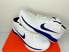 NEW SIZE 15 MEN Nike Kobe AD Mid TB PE Lakers White Purple White BASKETBALL SHOE