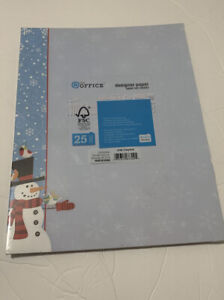 @ The Office Designer Paper Frosty Perch 25 Count