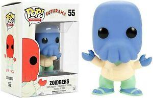 Funko ALTERNATE UNIVERSE BLUE ZOIDBERG #55 POP! Vinyl FUTURAMA Toy