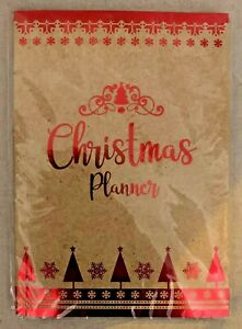 Christmas Planner Book, Cards Presents Food And Drink To Do Lists Gift