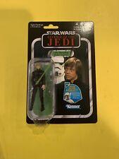 Star Wars The Vintage Collection Luke Skywalker Endor VC23 New On Card Rotj Moc