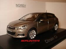 NOREV CITROEN C4 SPIRIT GREY 2015 au 1/43°