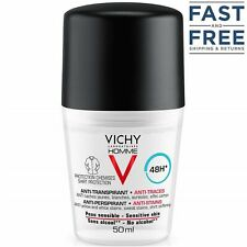 Vichy Homme Deodorant Anti-Perspirant for Men Anti-Stains 48h 50ml