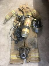Rescue Me Firefighter Fireman Halloween Costume for Men,Large, With Accessories
