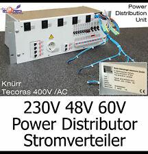 230V 48V 60V 48-60 VOLT PDU STROMVERTEILER SICHERUNG ABB STROM POWER DISTRIBUTOR