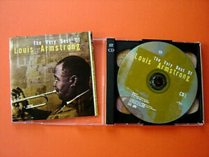 2 CD * LOUIS ARMSTRONG VERY BEST OF *Compilation 40 TITRES **VERVE/UNIVERSAL