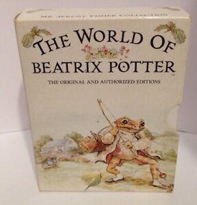VINTAGE 1993 COLLECT THE WORLD OF BEATRIX POTTER 4 BOOKS BOX SET MR TOD +