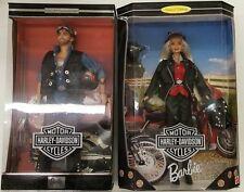 Harley-Davidson Barbie 17692 & Ken #2 SET  Actual Photos!! New in Box!!!