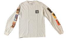 Playboy Pin Up Girls Men's Long Sleeve T Shirt Size Small