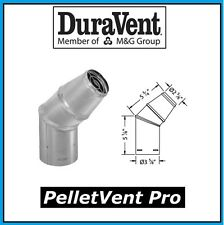 "DURAVENT PELLETVENT PRO Pipe 3"" Diameter Horizontal Cap #3PVP-HC NEW! HC2"