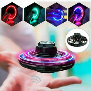 FlyNova Drone Hovering Flying Spinner Boomerang Fidget LED Lights Kids Toys UKJ