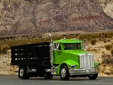 1/64 SPECCAST LIME GREEN PETERBILT 385 STAKE BED TRUCK