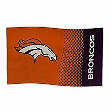 Denver Broncos NFL Football Fan shop BANDIERA 152 CM x 91 cm