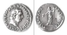 ARGENTO - DENARIO IMPERO VITELLIO (69 d.c.) - ZECCA DI ROMA - RICONIO IPZS 2002
