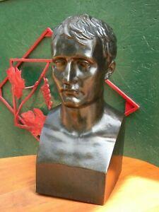 """"""" Busto IN Ferro Patina Bronzo Napoleone Bonaparte """""""