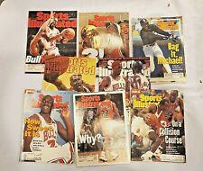 New listing Vintage lot (8) Michael Jordan Basketball Sports Illustrated Magazines.