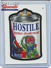 2020 Topps On-Demand Set #1 – Mars Attacks Wacky Packages - CARD 1 HOSTILE