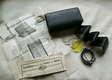 VINTAGE RHACO CAMERA LENSES + FILTER SET - MADE IN GERMANY