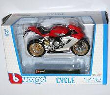 Burago - MV AGUSTA F3 Serie Oro 2012 - Motorcycle Model Scale 1:18