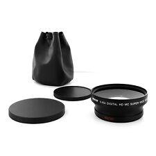 0.43X WIDE ANGLE MACRO Camera Lens For Nikon NIKKOR 18-200mm AF-S Zoom Lens 72mm