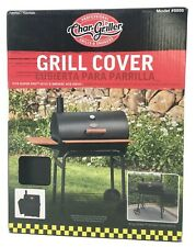 Char-Griller 37-in Black Charcoal Grill Cover 5555
