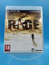 jeu video sony playstation 3 ps3 complet PAL rage / USK 18 ans