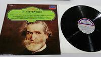 Giuseppe Verdi Nabucco Die Traviata Aida LP Vinyl VG + Spanisch Ed Philips