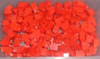 LEGO - SLOPE - Inverted 45% 2 x 1, RED x 111 (3665) ZY213
