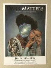 JOE WEBB, 'Dark Matters' private view invitation card,  2017.