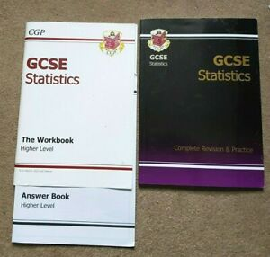 GCSE MATHS STATISTICS Higher level Revision & Workbook with answers