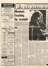 John Hiseman Colosseum Tempest Teaching By Example MM2 Interview 1972
