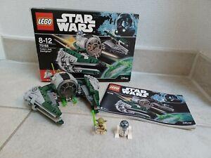 LEGO Star Wars 75168 - Yoda's Jedi Starfighter, gebr., vollständig mit Figuren