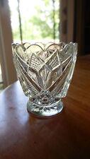 """EAPG - Co-operative Flint Glass Co. """"Rex/Fancy Cut"""" child's crystal spooner"""