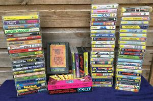 HUGE JOB LOT BUNDLE Vintage SPECTRUM 48k 128k PC Computer Game Tape Cassette 80s